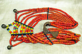 Eight Strand Beaded necklace from India