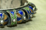 Moroccan enameled Bangle