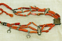 Old Moroccan Branch Coral Necklace