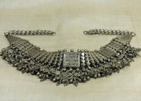 Vintage 1930s Silver Necklace from Yemen