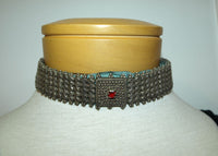 Vintage 1920s Silver Choker from Afghanistan
