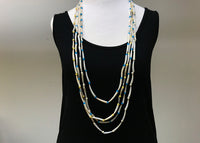Vintage '50s Native American Dentalium Shell Necklace