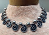 Vintage Mexican Taxco Sterling Silver Necklace and Earrings