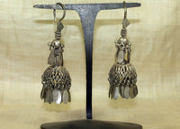 Pair of Vintage Afghan Silver Earrings