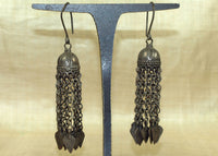 Antique Silver Earrings from Afghanistan