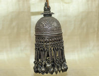 Large Antique Silver Tassel from Afghanistan