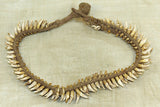 Flying Fox Bat Teeth Necklace from Papau New Guinea