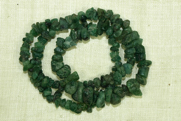 Natural Emerald Chips