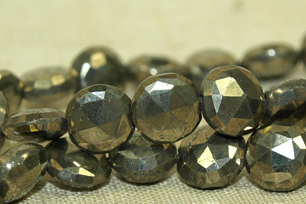 Awesome, faceted Pyrite coins