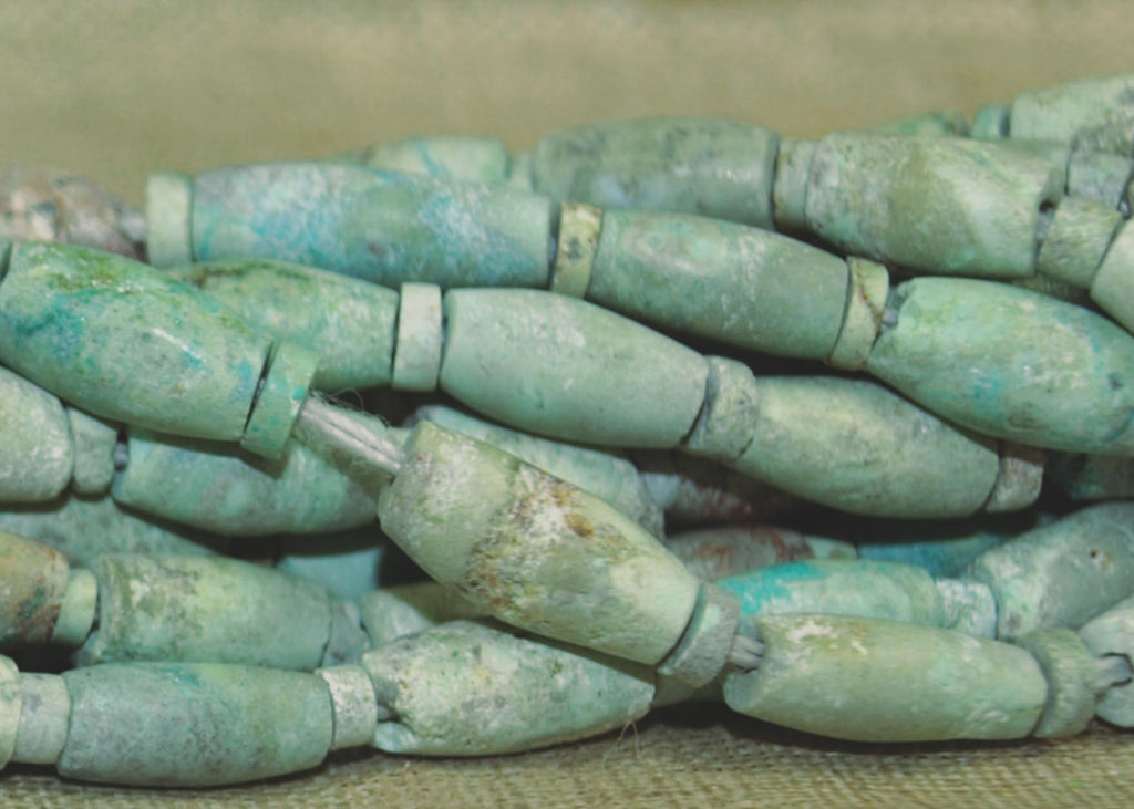Ancient Turquoise Beads from Southern Afghanistan