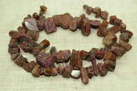 Natural Ruby Crystal Beads