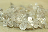 Strand of Termilated Quartz rough cut beads