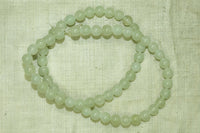 6mm Round Serpentine beads
