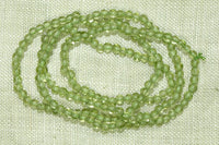 Lovely tiny 2mm Peridot Gemstone beads
