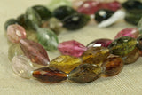 Colourful Faceted Tourmaline Gemstone beads