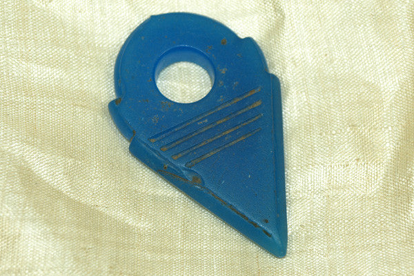 "Tuareg Glass ""Key"", Capri Blue"