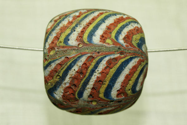 Huge Feathered Bead From Indonesia