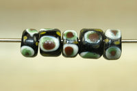 Vintage Glass Eye Bead from Java