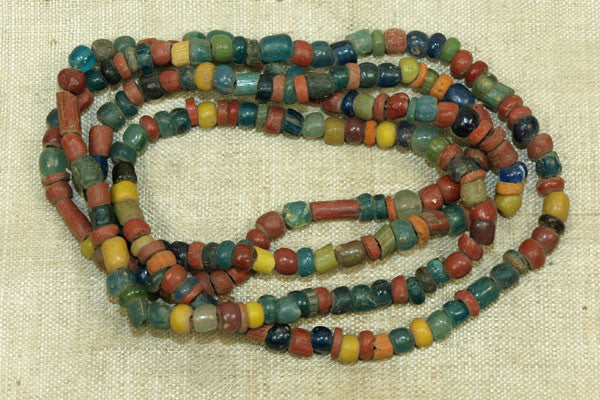 Ancient Colorful Tradewind Glass Beads