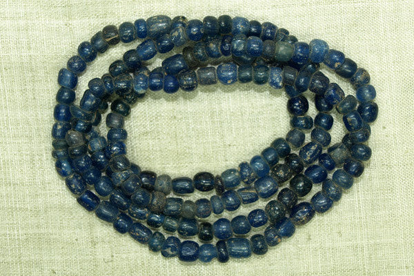 Ancient Cobalt Tradewind Glass Beads