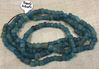 Ancient Denim Blue Tradewind Glass Beads