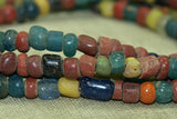 Ancient Tradewind Glass Beads, mixed colors