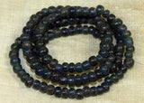 Ancient Cobalt Tradewind Glass 6mm Beads
