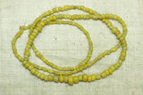Ancient yellow-green Tradewind Beads