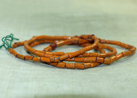 Orange and Ceramic and Glass Tradewind Beads