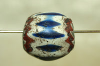400 Year Old Large 7-Layer Venetian Chevron Bead
