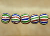 Rare Venetian Glass Beads, Set of Five