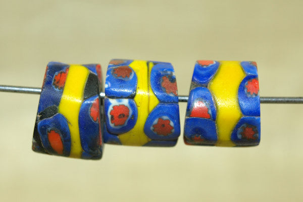 Chunky Millefiore Glass Bead