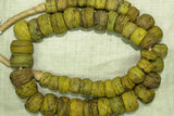 Yellow Hebron Beads