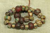 Picasso finished Vintage Czech Beads