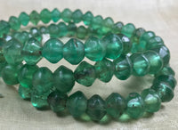 Extra-Long Strand of Green Vaseline Beads
