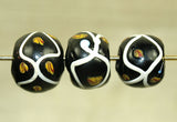 Gorgeous Antique Venetian black bead