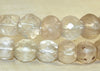Clear Vaseline Beads from the 1800s; assorted shapes and cuts