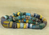 Graduated Strand of Colorful Ancient Glass Beads
