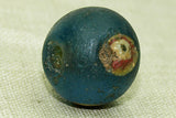 Ancient Blue-Green Glass Roman Eye Bead, B