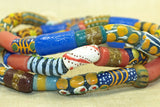 Recycled Glass Sand Beads from Ghana