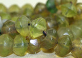 Antique Jonquil/Yellow Vaseline Beads