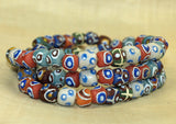 New Hand-made Glass Beads from Ghana