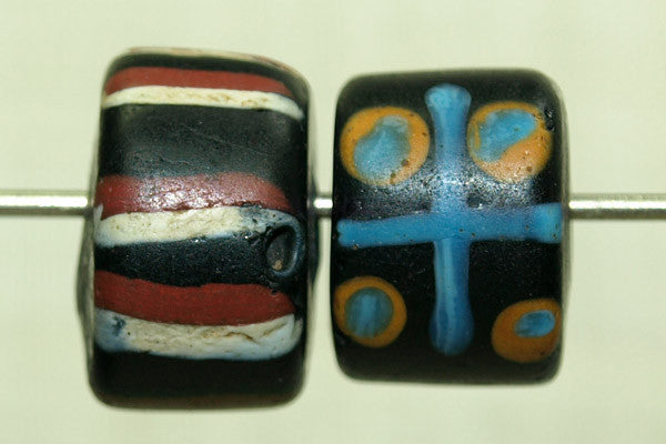 Antique Venetian Tic-Tac-Toe Bead