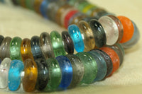 New mixed color Glass Beads from Ghana