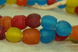 New Ghana Multi-Color Glass Beads