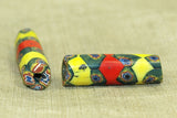 Delightfully Ugly Antique Venetian Mille Fiore Bead