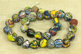 Incredible strand of rare Venetian Beads