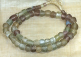 Antique Clear and Purple Dogon Beads from the 1700s