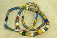 Lovely Mixed strand of Antique African Trade Beads