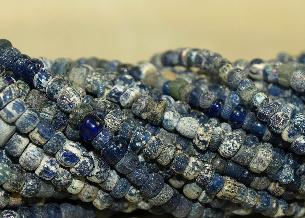 Strand of Small Ancient Roman Dig Beads